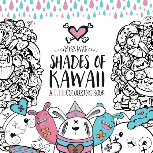 Shades of Kawaii: A Cute Colouring Book -