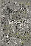 Moderner Teppich Casablanca 13 weiß - versandkostenfrei modern schadstoffgeprüft pflegeleicht antistatisch robust strapazierfähig schmutzabweisend Wohnzimmer Schlafzimmer Kinderzimmer Design Style, Größe Auswählen:80 x 150 cm