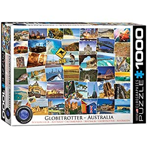 "Rompecabezas Eurographics 6000-0753""Globetrotter Australia (1000 Piezas)"
