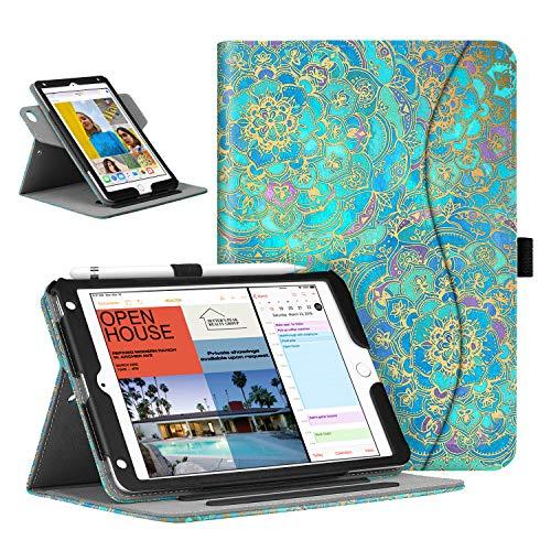 Fintie Schutzhülle für iPad Mini 5 / iPad Mini 4, drehbar ZA-Shades of Blue