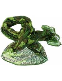 Military Scrim Net Tactical Scarf Combat Sorgo Army Face Veil Patrol Netting Woodland Camo