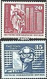 Prophila Collection DDR 1820-21,1842-43,1853-54, 1879-1882,1899-1900,1919-1920,1967 (kompl.) 1973 Aufbau in der DDR Großformat (Briefmarken für Sammler)