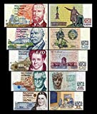 *** 5,10,20,50,100 irische Pfund - Banknoten - alte irische Währung - Reproduktion ***