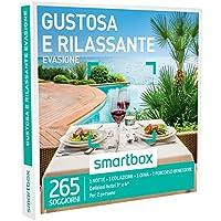 Smartbox - Cofanetto Regalo - GUSTOSA E RILASSANTE EVASIONE - 265 soggiorni con gusto e benessere in hotel 3* e 4*