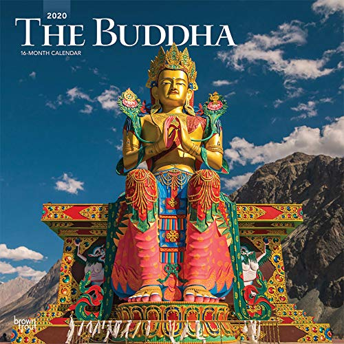The Buddha 2020 - 16-Monatskalender: Original BrownTrout-Kalender [Mehrsprachig] [Kalender] (Wall-Kalender)