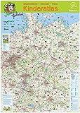 Petronellas Deutschlandkarte: Großformatige kindgerechte Deutschlandkarte mit allen Zoos, Naturparken, Nationalparken, Naturkundemuseen u.v.m. DIN A 1, gefaltet