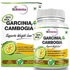 St.Botanica Garcinia Cambogia (60% Garcinia HCA) 800mg Extract - 90 Veg Caps