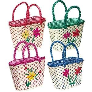 Tobar Flower Woven Basket