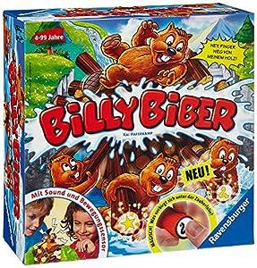 Ravensburger Billy Biber Niños Juego de Habilidades motrices Finas - Juego de Tablero (Juego de Habilidades motrices Finas, Niños, 20 min, Niño/niña, 4 año(s)