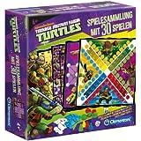 Clementoni 69332.0 - Ninja Turtles - Spielesammlung, 30 Spielvarianten