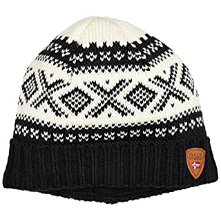 Dale of Norway Cortina 1956 Hat, Black/Off-White, One Size