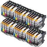 30x Druckerpatronen Komp. mit Brother LC223 XL LC223XL LC-223XL LC-223 XL mit Brother MFC-J5320DW DCP-J4120DW MFC-J480DW MFC-J5720DW MFC-J5625DW MFC-J4620DW MFC-J4420DW MFC-J880DW MFC-J4625DW DCP-J562DW MFC-J5620DW MFC-J680DW MFC-J4425DW MFC-J1100 Drucker Tinte Tintenpatronen