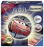 Ravensburger - 11818 - Puzzle - 3D - 72 Pièces - Cars 3 Lumineux
