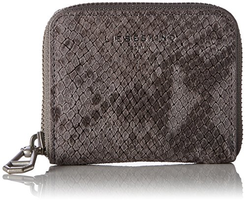 Liebeskind Berlin Damen Doth7 Serpen Geldbörse, Mehrfarbig (Snake Grey), 3 x 11 x 9 cm (Animal Geldbörse Leder)