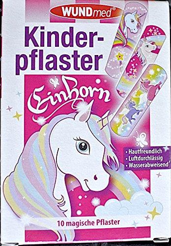 WUNDmed® 02-112 Pflaster 10 Stück Motiv-Pflaster Kinderpflaster ( Einhorn )