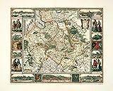 Historische Karte: Rheinpfalz, 1652 (Plano)