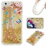 KSHOP Coque de protection en silicone TPU mince Pour iPhone SE/iPhone 5/iPhone 5S Avec motif imprimé papillons multicolores iPhone 7 /iphone 7S 4.7 lu9