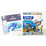 DIKSHA STATIONERY MART Doms Brush Pen ( 14 shades)