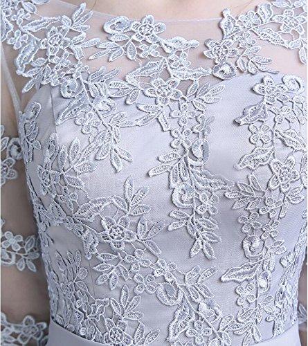 KA Beauty - Robe - Trapèze - Femme Gris
