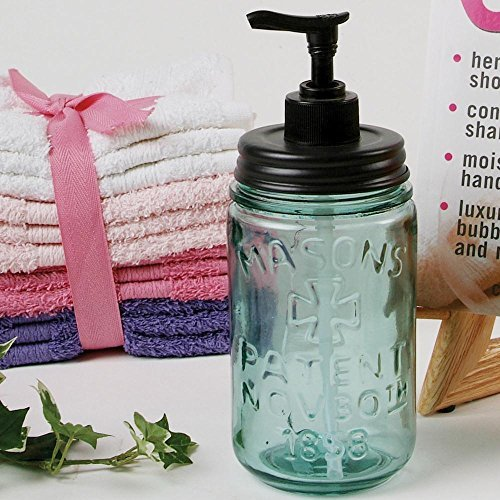 Pint Mason Jar Soap Dispenser by Colonial Tin (Pint Mason Jar)