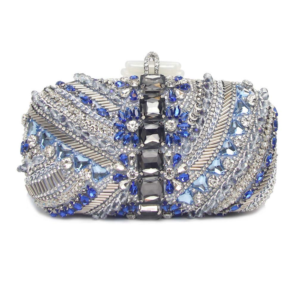 4f7882e8e29e7 Lovely Rabbit Women Party Wedding Evening Bag/rhinestone Clutch Purse/crystal  Clutch Bag With Shoulder Chain – Miss Alice