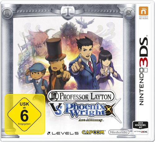 Professor Layton vs. Phoenix Wright: Ace Attorney - [Nintendo 3DS] Pause Tester