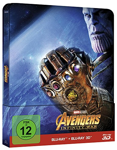 Avengers: Infinity War Steelbook - 3D + 2D [3D Blu-ray] [Limited Edition]