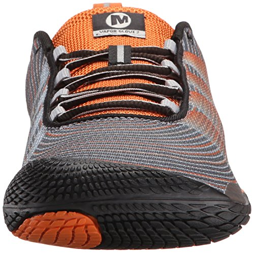 Merrell - Vapor Glove 2, Scarpe da corsa da uomo Multicolore (Dark Orange)