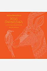 Millie Marotta's Wild Savannah Deluxe Edition Hardcover