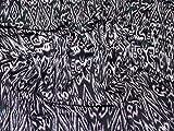 Lurex Sparkle Stretch Jersey Knit Kleid Stoff lila–Meterware