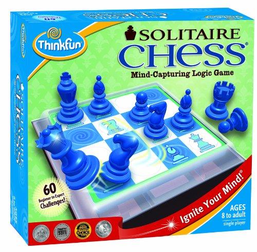Solitaire - Juego de ajedrez [Importado de Reino Unido]
