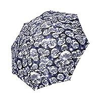 Kitchor Costum Diamond Pattern Generic Foldable Umbrella Sun Rain Anti-UV