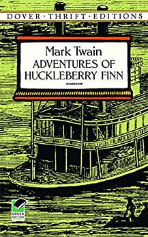 Adventures of Huckleberry Finn (Dover Thrift Editions) von [Twain, Mark]
