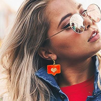 Boucle d'oreille addictif social - Boucles d'oreilles comme moi - Bijoux tendances - Bijoux Instagram Rockabilly - Boucle d'oreille fantaisie - Boucles d'oreilles cool