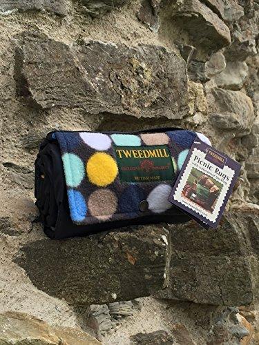 blue-spot-y-azul-marino-impermeable-alfombra-de-picnic-ligera-y-suave-con-handy-correa
