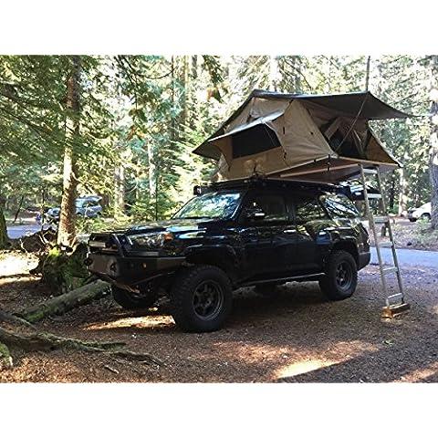 Deluxe grigio/argento auto tetto tenda 1,4Expedition Landrover 4x 4SUV RRP (Schiuma Deluxe Materasso)