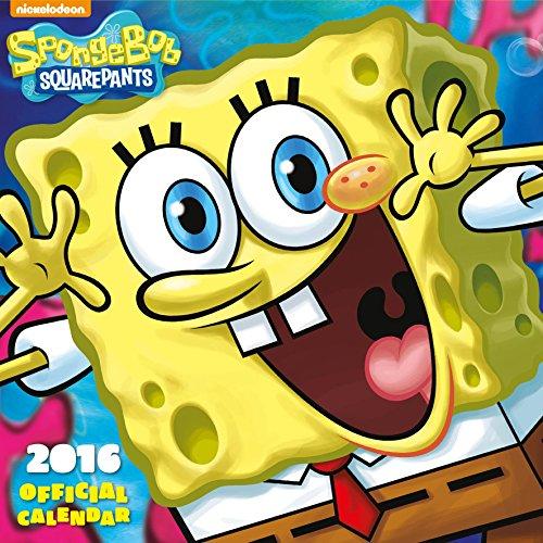 The Official Sponge Bob 2016 Square Calendar por Stapled