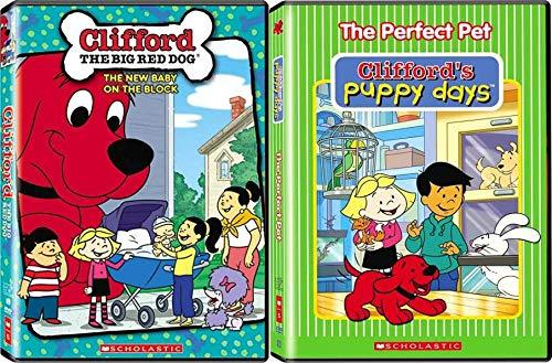 Clifford the Big Red Dog & Puppy Days: TV Series DVD Bundle (17 Episodes + Bonus Features)