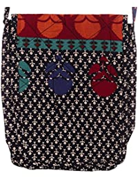 Setu Sling Women's Cotton Bags Multi-Colored (Pack Of 2)