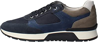 NeroGiardini E001482U Sneaker Uomo Camoscio/Pelle/Tela