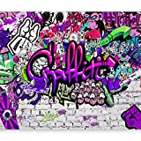 murando - Fototapete 400x280 cm - Vlies Tapete - Moderne Wanddeko - Design Tapete - Wandtapete - Wand Dekoration - Graffiti Streetart f-A-0348-a-c