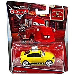 Cars Rescue Squad Mater Nurse GTO by Disney,, dlj88