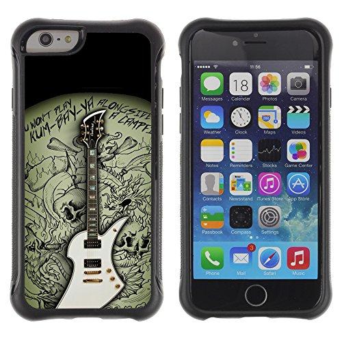 Graphic4You Amerikanisches Geld Design Shockproof Anti-Rutsch Weichen Hülle Case Tasche Schutzhülle für Apple iPhone 6 / 6S Design #12