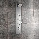 Jaaz Clyde Steel Matte Shower Panel
