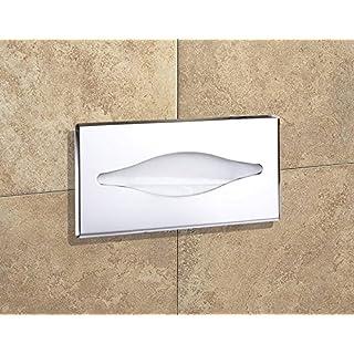 AGUTE Papierhandtücher Spender / Papierhalter zum Einbau, Unterputz / Handtuchhalter, Handtücherhalter / für Papierhandtuch
