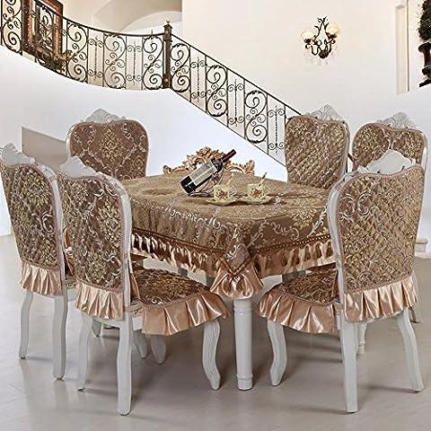Copertura di tessuto europeo/ sedia/Copertine per retro tappezzeria sedie
