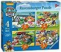 Ravensburger 4 Puzles Patrulla Canina en una Caja (12, 16, 20, 24 Piezas) de Ravensburger