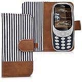 kwmobile Nokia 3310 (2017) Hülle - Kunstleder Wallet Handy Cover Case Schutzhülle für Nokia 3310 (2017)
