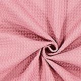 Fabulous Fabrics Waffelpiqué - Altrosa - Meterware ab 0,5m