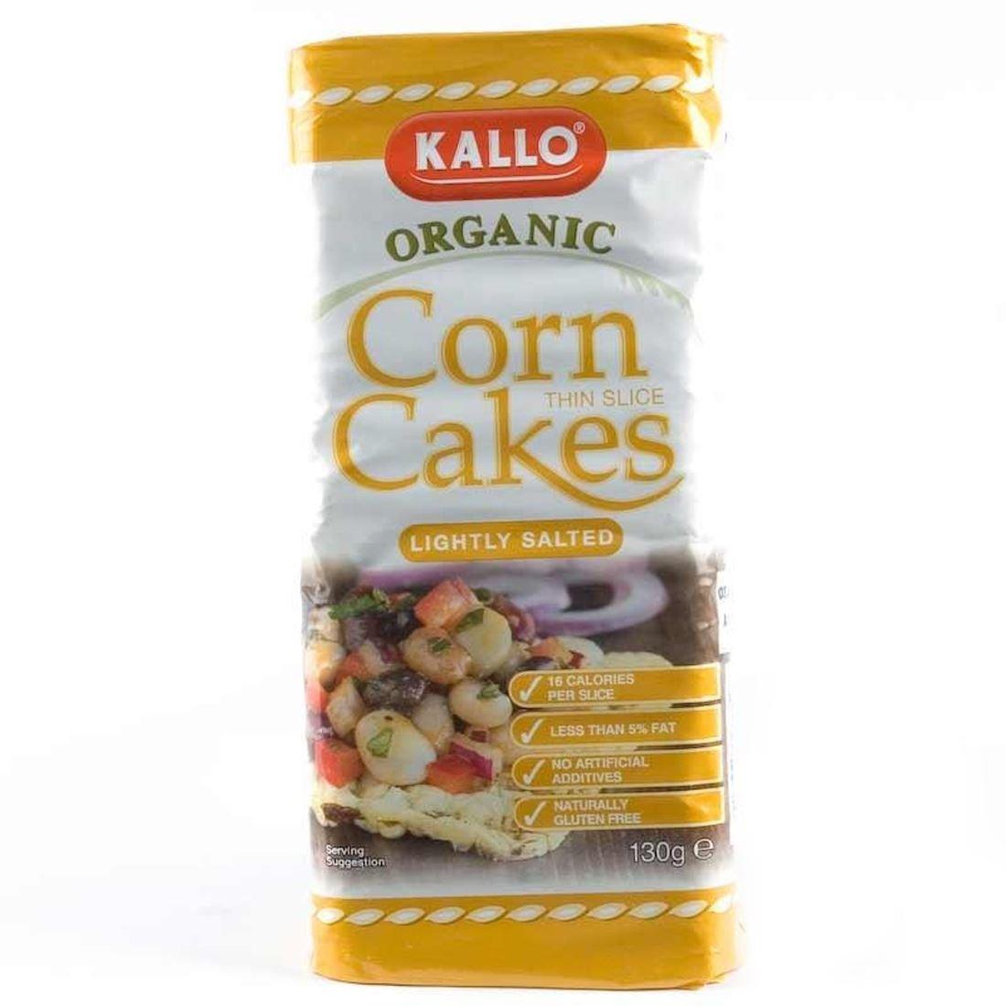 Kallo | Corn Cakes OG | 2 x 12 x 130g